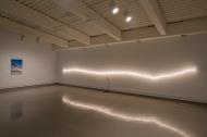 Untitled Saskatchewan Landscape, fluorescent light tubes