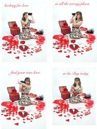 valentine ad flat